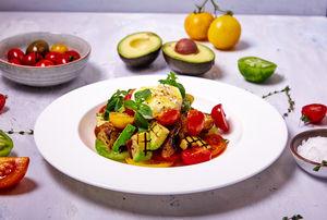 Drivu Burrata summer salad