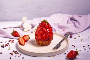 Drivu Strawberry tart