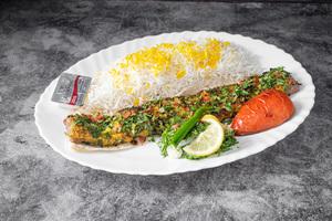 Drivu Tabrizi Kebab Plate