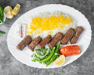 Drivu Mexican Roll Kebab Plate