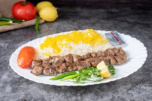 Drivu Meat Tikka with Yogurt Plate