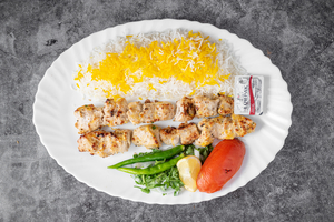 Drivu Chicken Tikka with Yogurt Plate