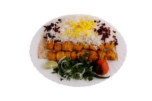 Drivu Shish Tawook with Saffron Plate