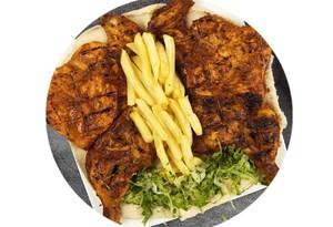 Drivu Whole Grilled Chicken Plate
