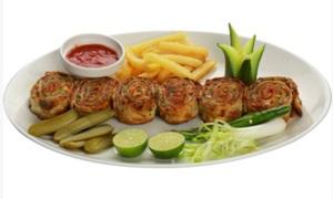 Drivu Arayes Meat Rolls Plate