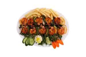 Drivu Grilled Shrimps Plate