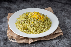 Drivu Green Dill Rice Plate with Beans (small)