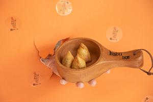 Drivu Cheese Samosa (3 pieces)