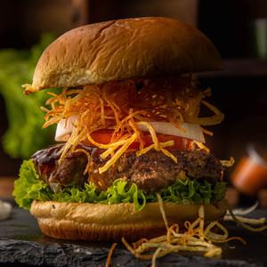Drivu Volcano Beef Burger