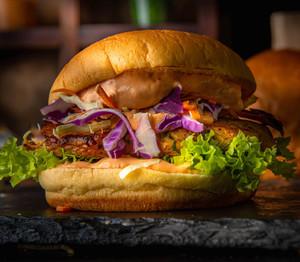 Drivu The Asian Chicken Burger