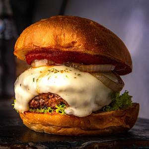 Drivu The Italian Beef Burger
