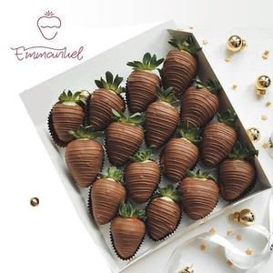 Drivu Chocolate Strawberries (16 pieces)