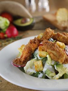 Drivu Fried Chicken Salad