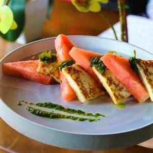 Drivu Halloumi & Watermelon