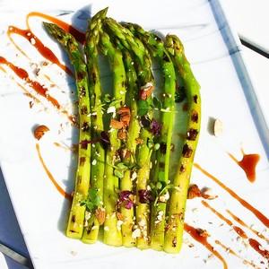 Drivu Grilled Asparagus