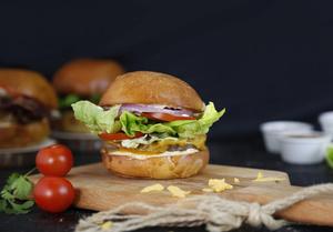 Drivu Clinton St. Food Truck Burger