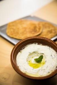 Drivu Labna with Garlic