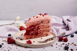 Drivu Rose and Lychee Cake
