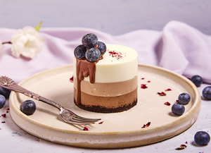 Drivu Triple Chocolate Cheesecake