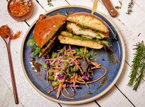 Drivu Tonkatsu chicken sandwich