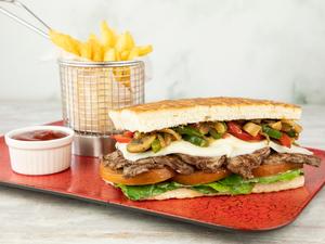 Drivu Rustic Steak Sandwich