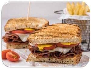 Drivu Turkey & Cheese Sandwich