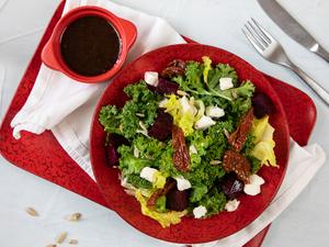 Drivu Kale with Feta Salad