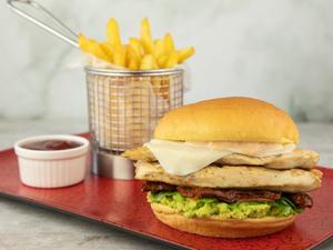 Drivu Classic Chicken Burger