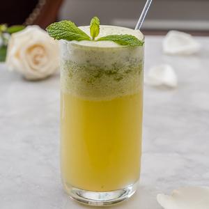 Drivu Salted Caramel Apple Mocktail