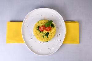 Drivu Saffron Broccoli Risotto