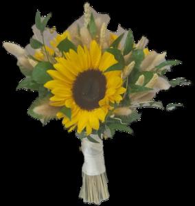 Drivu bridal bouquet sun flower