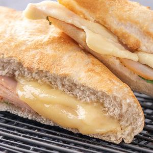 Drivu Smoked Turkey Emmental Baguette Sandwich