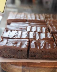 Drivu Sourdough Nutella Brownie