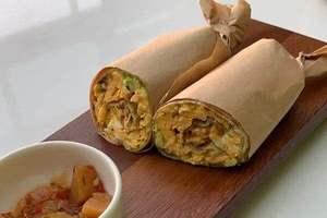 Drivu Caramelized Onion, Egg, Avocado & Cheese Wrap