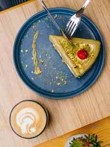 Drivu Pistachio Cheesecake