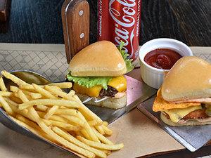 Drivu Triangle Mini Burgers Combo