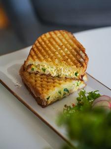 Drivu Curried Chicken Sandwich