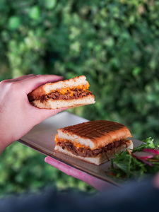 Drivu BBQ Brisket Sandwich