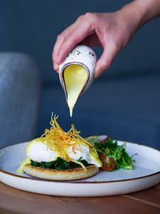 Drivu Egg Florentine