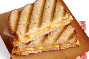 Drivu Turkey cheese pannini