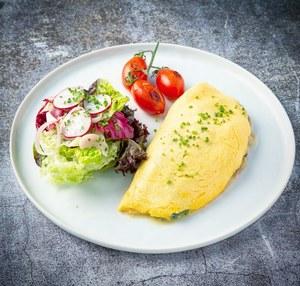Drivu Plain or Cheese Omelette