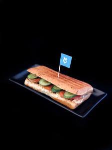 Drivu Grilled Halloumi Sandwich