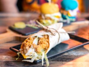 Drivu Tortilla Wrap Sandwich