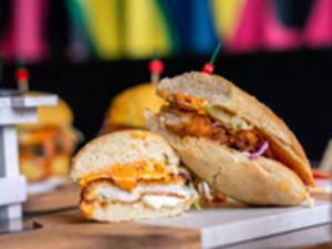 Drivu Golden Fillet Sandwich