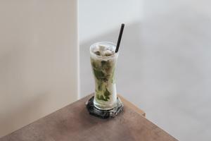 Drivu Iced Spanish Matcha Latte