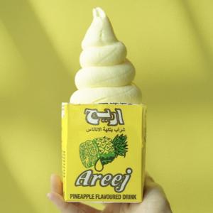 Drivu Areej Pineapple Soft Serve