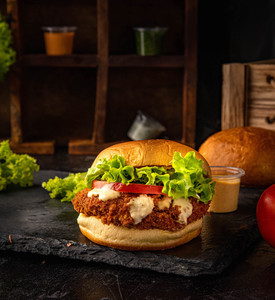 Drivu Dynamite Chicken Burger