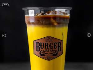 Drivu Saffron Iced Coffee