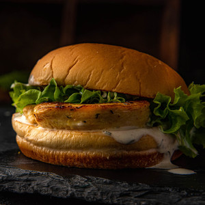Drivu Grilled Chicken Burger