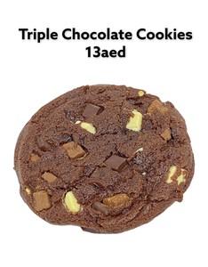 Drivu Tripple Chocolate Cookies